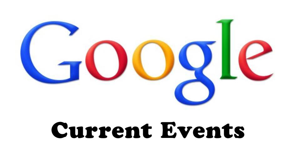 google current events