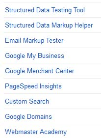 google search console other resources