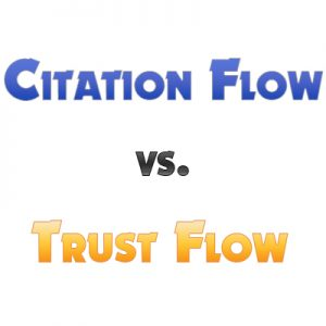 citation flow vs trust flow